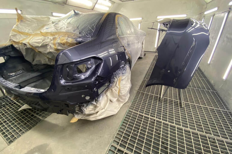 Ремонт крышки багажника